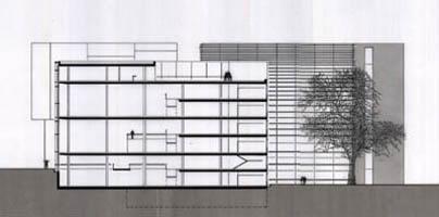Bergermann architektur entw rfe - Architektur schnitt ...